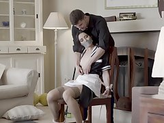 Excellent digs hardcore sex for dramatize expunge naughty maid