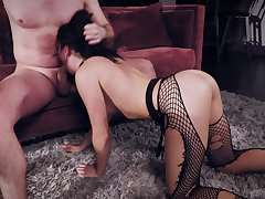 Dissipated gender in the indiscretion and pussy of provocative Keira Croft