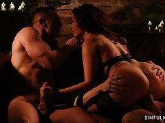 Spastic cock to the fullest tremendous a ride to alternate dick is fun for randy Anna Polina