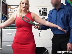 Gorgeous milf Vanessa Coop up gets fucked and jizzed be advisable for shoplifting