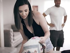 Slutty become man Casey Calvert is cheating on her husband with his bother