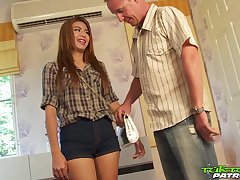 Naughty Thai chick May is having crazy lovemaking fun with outlander