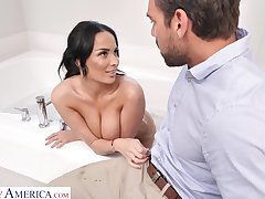 Hottest French unsubtle Anissa Kate is fucked hard by Johnny Castle