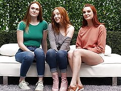 3 Redheads And One Lucky Ass Guy