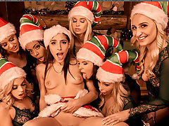 VR BANGERS Naughty Babes Essay Huge Surprise For Santa