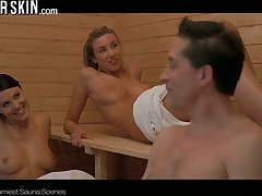 Steamiest sauna scenes alongside the hottest nude celebrities
