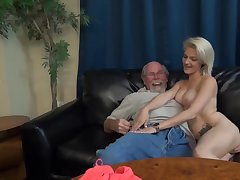 Hope Harper - hot porn video with old man
