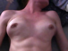 Daddy plays with stepdaughter