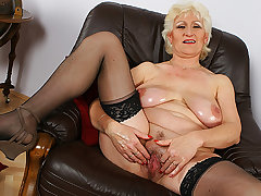 Busty mom's first porn video