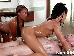 Oiled, Lubed Whores Compilation - Crazy Sex