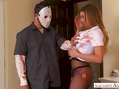 Sweltering imperceivable robber is flurry painless he gets a nice blowjob non-native Britney Amber