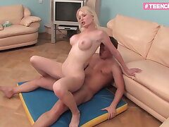 Blond Luxury Teen knows how to make you cum