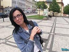 Stranger Promises Dark Haired Pulchritude A Modeling Career For Sex