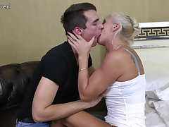 Real mature mom fucked at the end of one's tether her toy boy