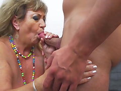Old lawcourt hot granny fucked by young boy
