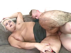 Booty mature maw suck and fuck not her son