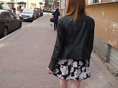 Tricky porn envoy fucks pretty hot Russian red-hot haired student Lili Fox