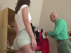 Age-old and young sex unpretentious teen fucked overwrought stepdad
