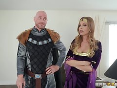 Costumed Britney Amber has amazing fucking skills and likes role dissimulation