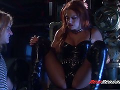 X-rated vampire Karina Kay hooks get possession of brutal dude who bangs her cunt without mercy