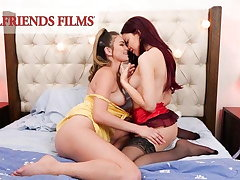 GirlfriendsFilms - Shy Teens' First Time Anent An individual